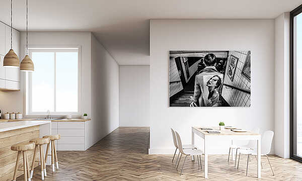 Underground art show