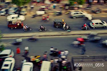 Traffic in Jaipur